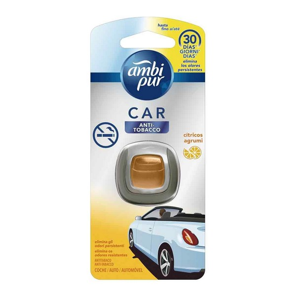 Car Air Freshener Anti Tabacco Agrumi Ambi Pur