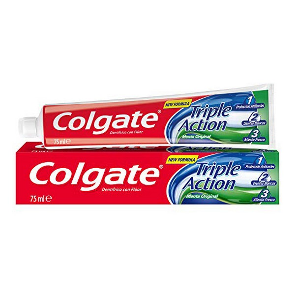 Dentifricio Triple Accion Original Mint Colgate (75 ml)