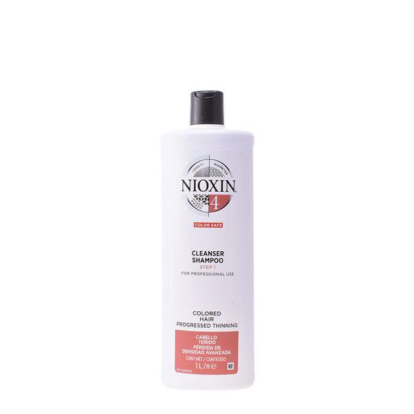 Šampon za povečanje volumna las System 4 Nioxin Tanki lasje - 300 ml