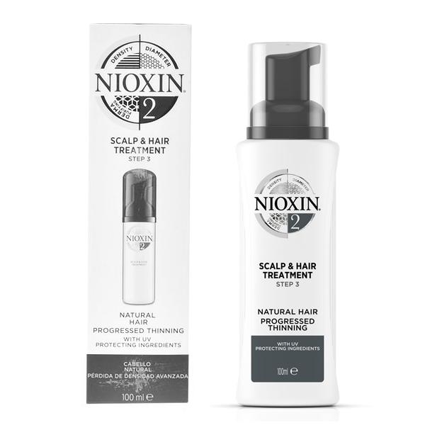 Zaščitni Tretma za Lase System 2 Nioxin Spf 15 (100 ml)