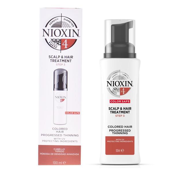 Zaščitni Tretma za Lase System 4 Nioxin Spf 15 (100 ml)