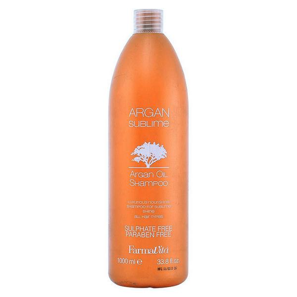 Hranljiv šampon za lase Argan Sublime Farmavita - 1000 ml