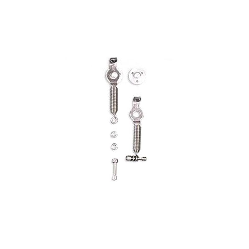 Bonnet lock OMP OMPEB/491 Silver