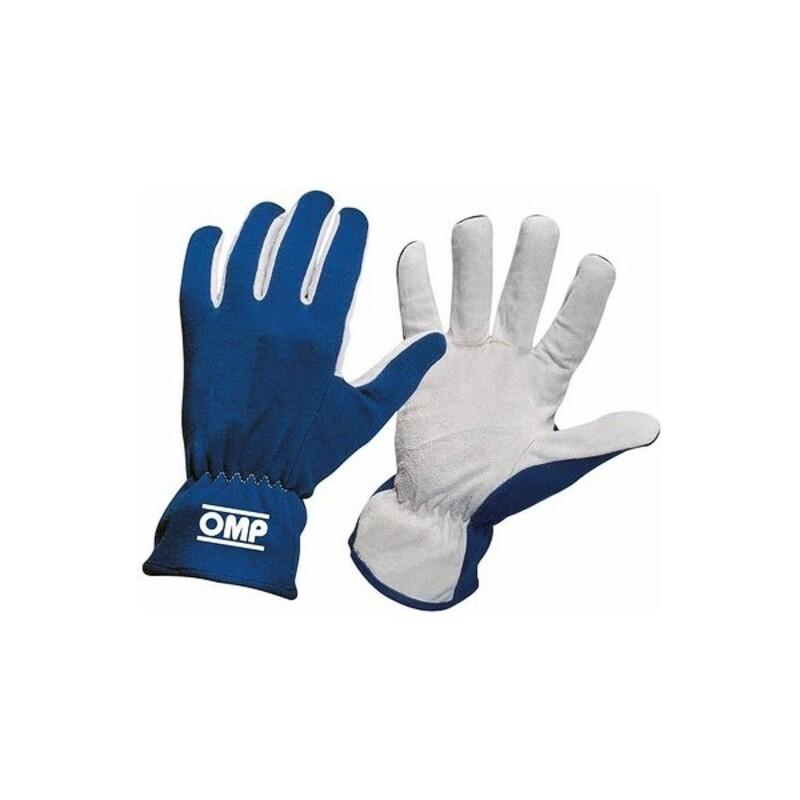 Men's Driving Gloves OMP Rally Blue