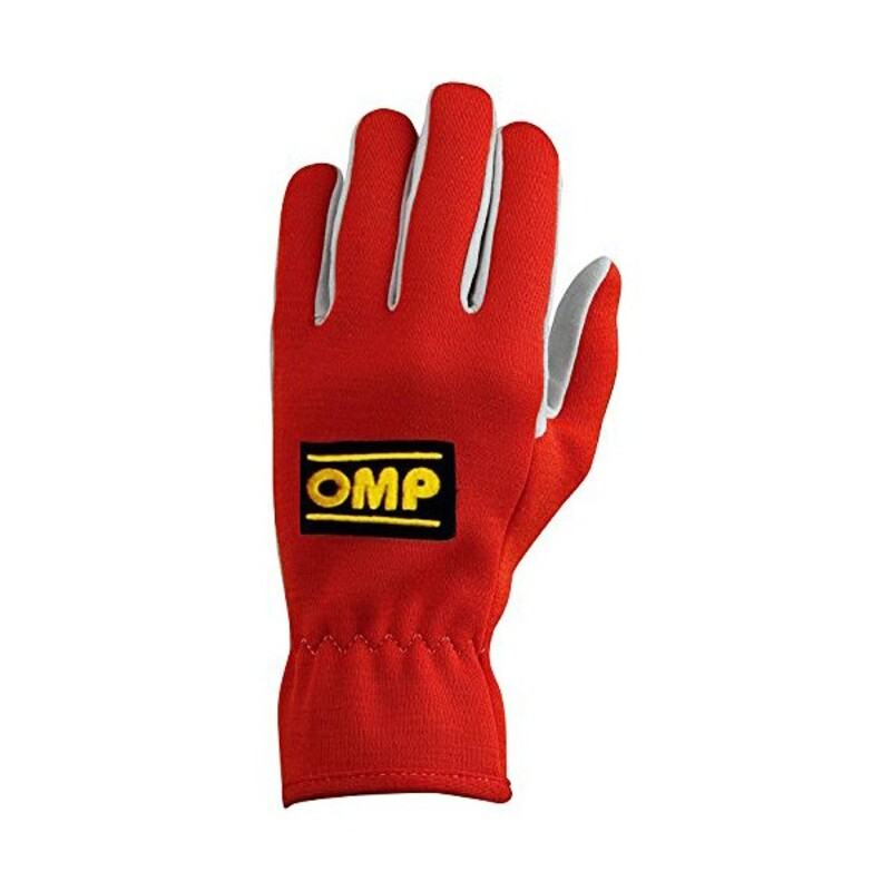 Men's Driving Gloves OMP Red