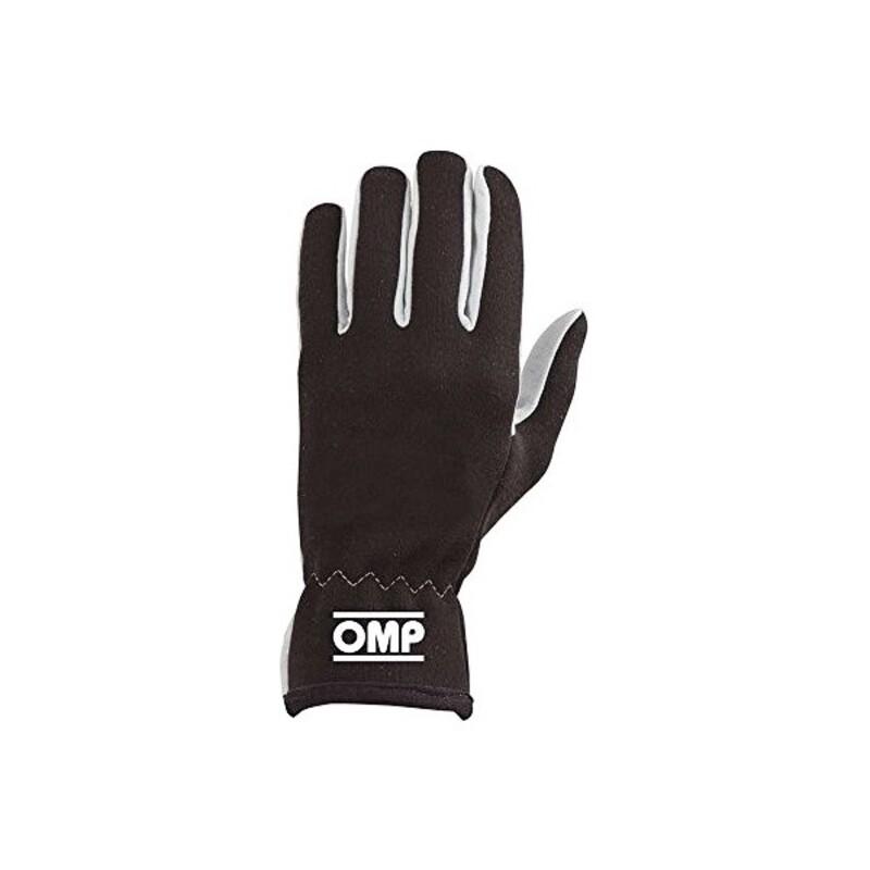 Men's Driving Gloves OMP Rally Black