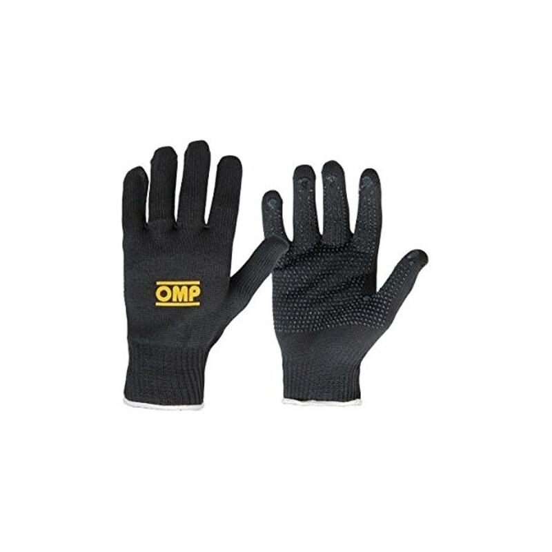 Karting Gloves OMP Grey