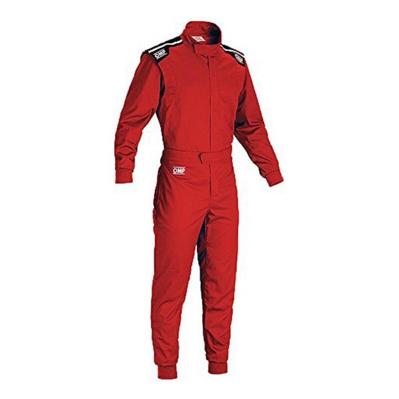 Childrens Racing Jumpsuit OMP Summer-K Red (140 cm)