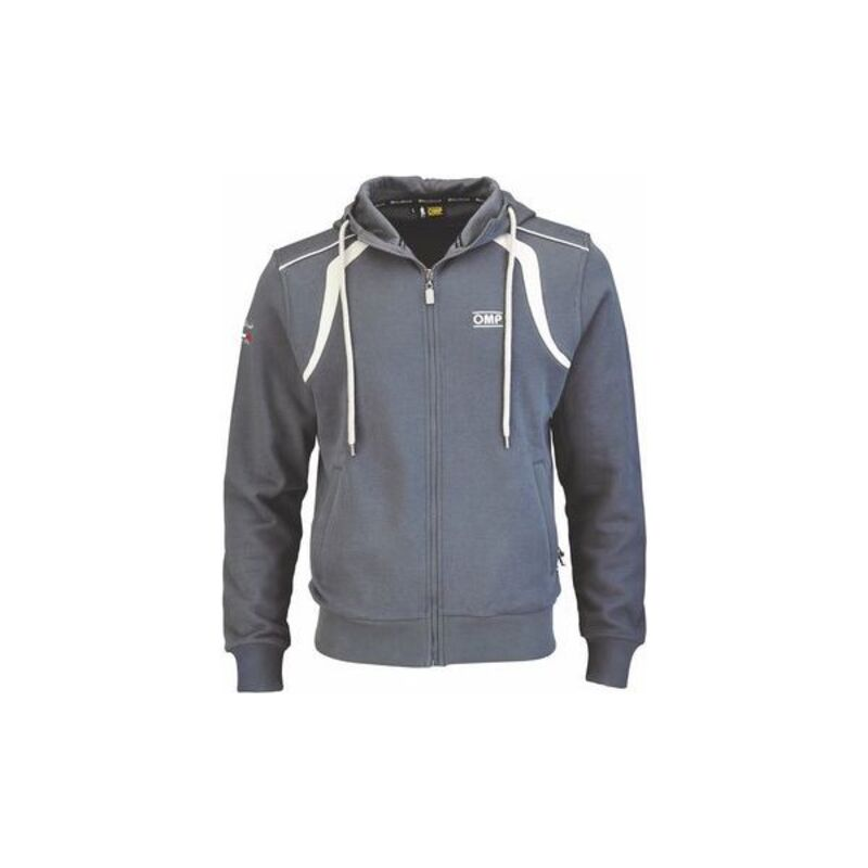 Men's Hoodie OMP Racing Spirit Grey