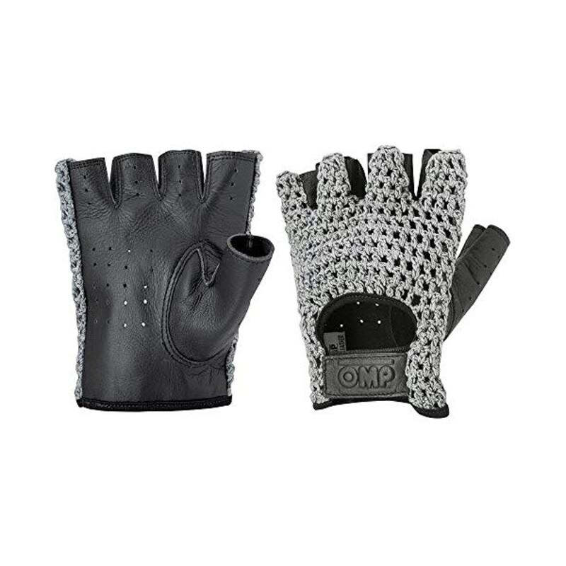 Men's Driving Gloves OMP (Size L) Black
