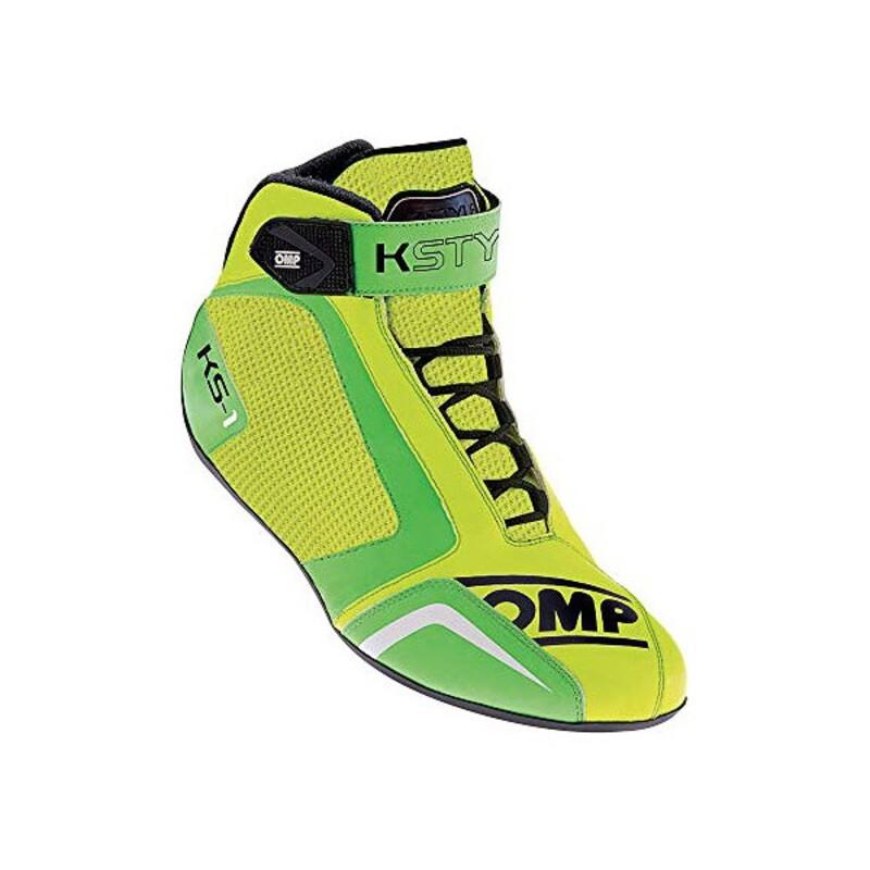 Bottes de course OMP MY2016 Vert (Taille 48)