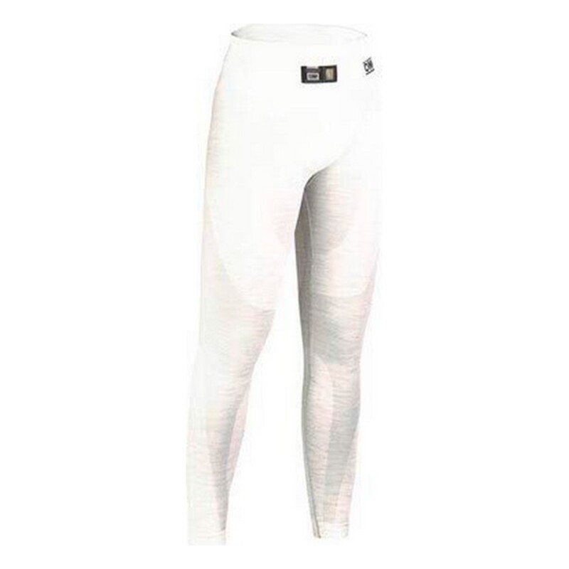 Thermal Pants OMP One Long Johns (Size XXL) White