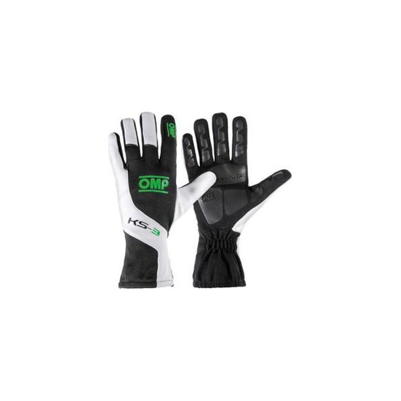 Children's Driving Gloves OMP MY2018 Black