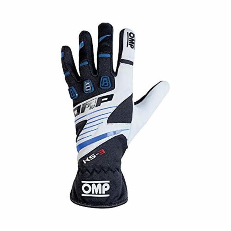 Kids Karting Gloves OMP MY2018 Black