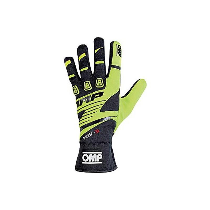 Children's Driving Gloves OMP KS-3 Black