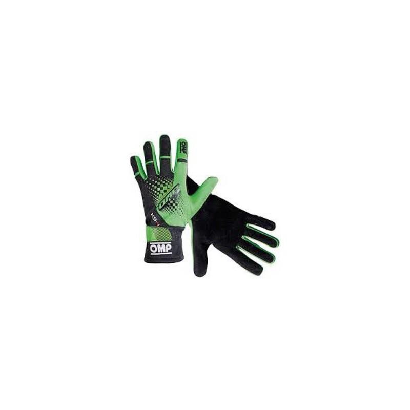 Men's Driving Gloves OMP MY2018 Black