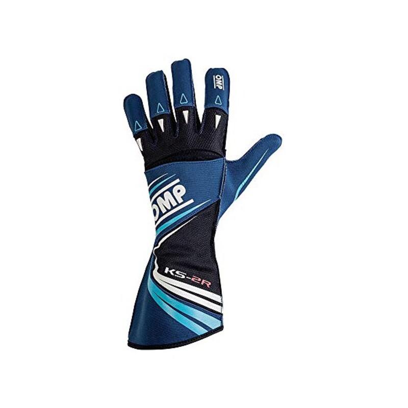 Children's Driving Gloves OMP KS-2R Blue