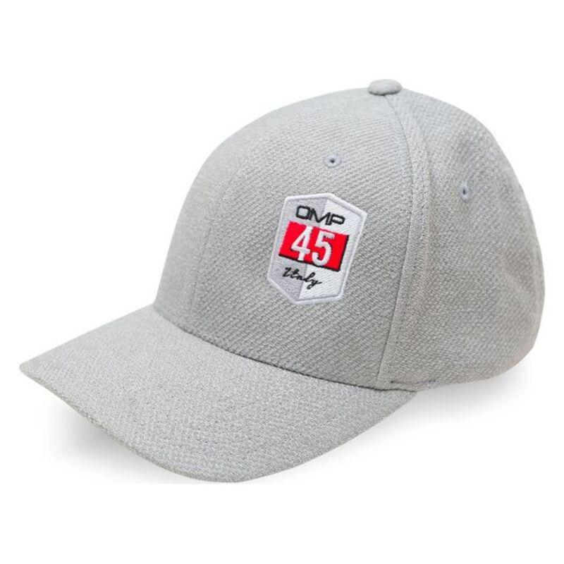 Sports Cap OMP Flexfit 45 Grey (Size L/XL)