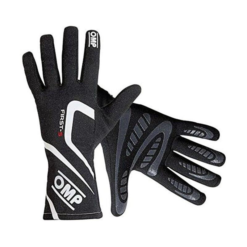 Men's Driving Gloves OMP First-S (Size L) Black