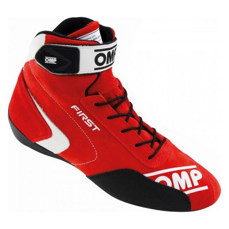 Bottes de course OMP First Rouge (Taille 43)