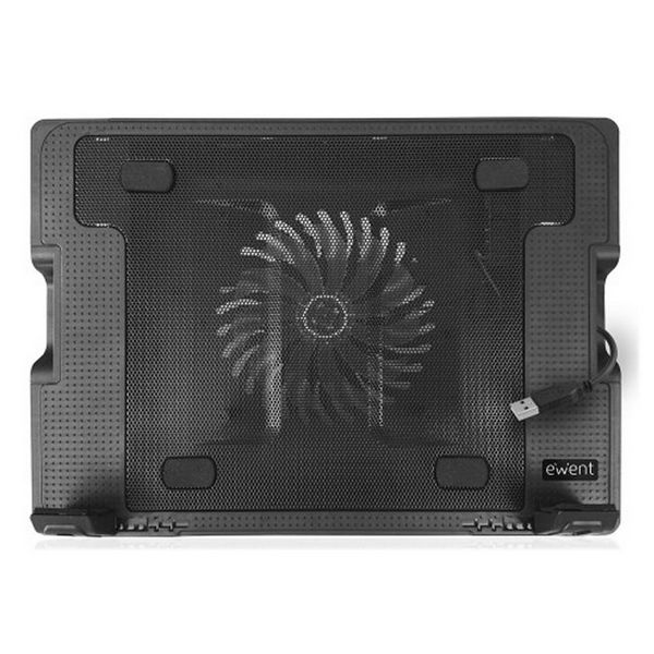 "Cooling Base for a Laptop Ewent EW1258 17"" Black Computers Electronics"