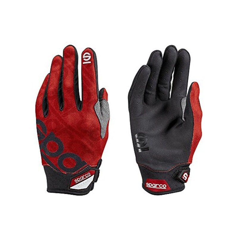 Men's Driving Gloves Sparco Meca 3 Red