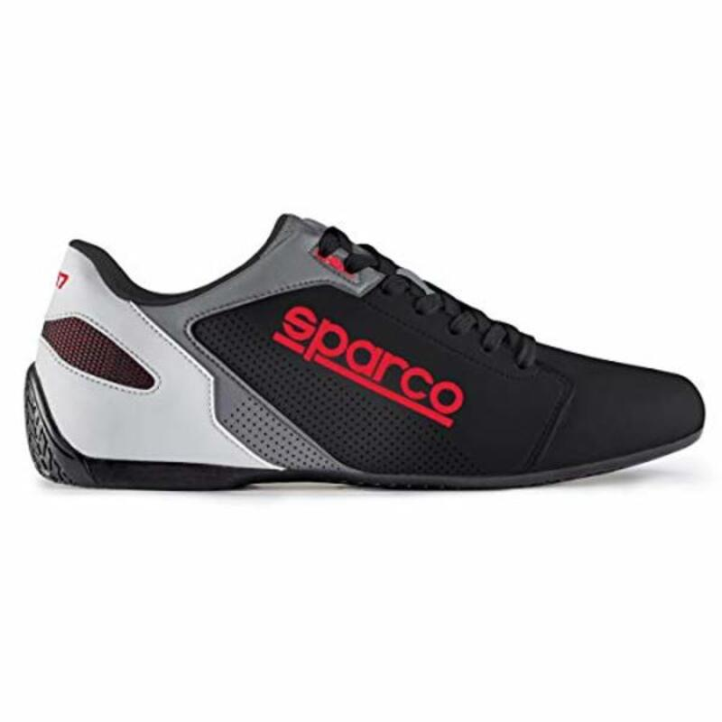 Casual Trainers Sparco SL-17 Black/Red
