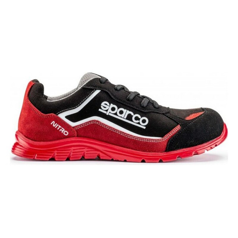 Baskets Sparco Nitro Rouge