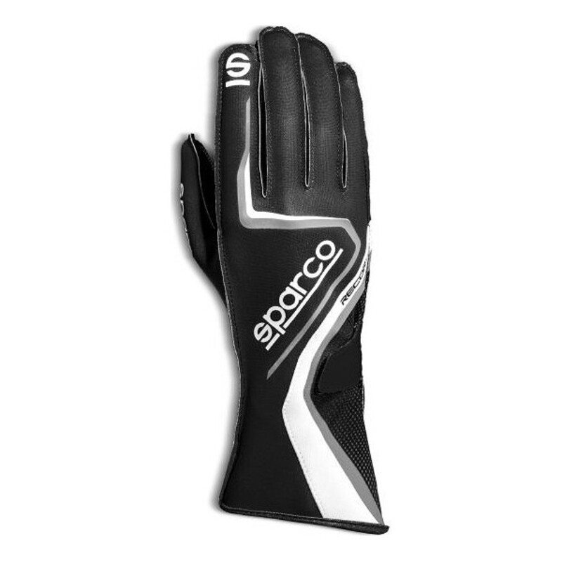 Men's Driving Gloves Sparco Record 2020 Black
