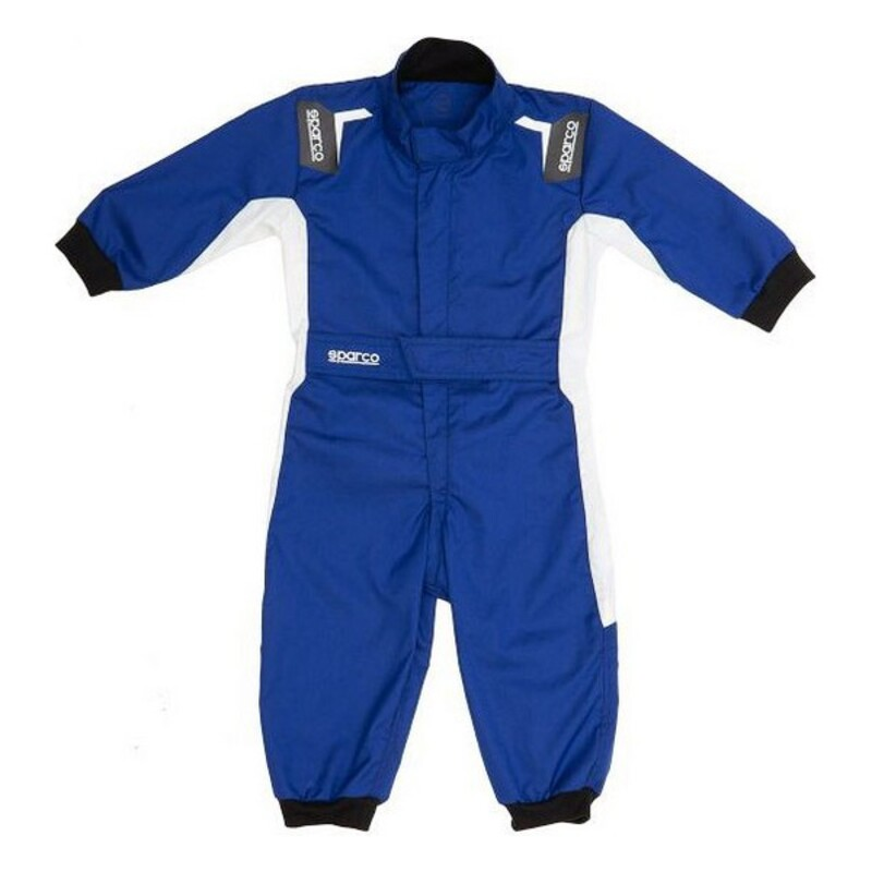 Childrens Racing Jumpsuit Sparco Eagle Blue (1-2 years)