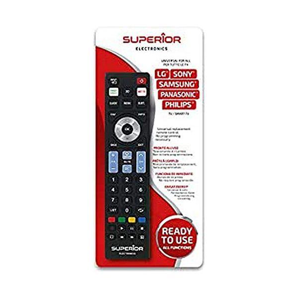 Remote control Superior Electronics SUPTRB019 Black