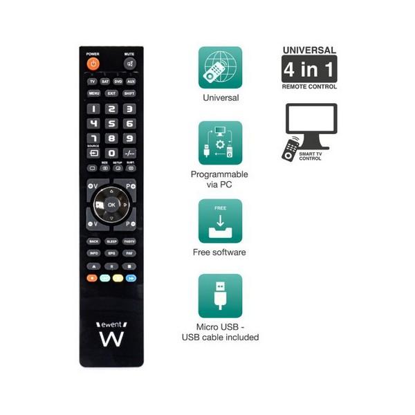 5X pellicola protettiva per telecomando con telecomando per TV WQHN