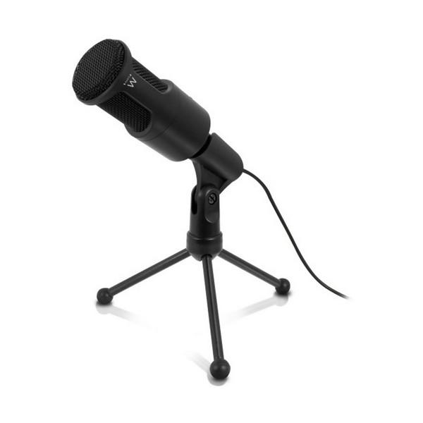 Micrófono Sobremesa Ewent EW3552 3.5 mm Negro