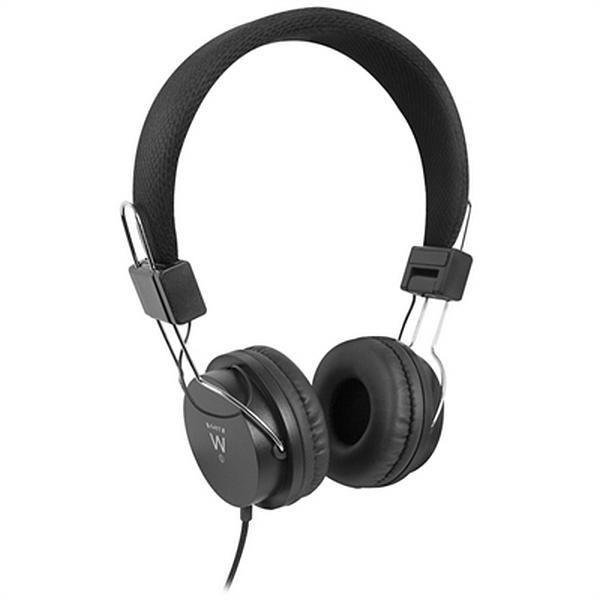 Auriculares de Diadema Ewent EW3573 (3.5 mm) Negro