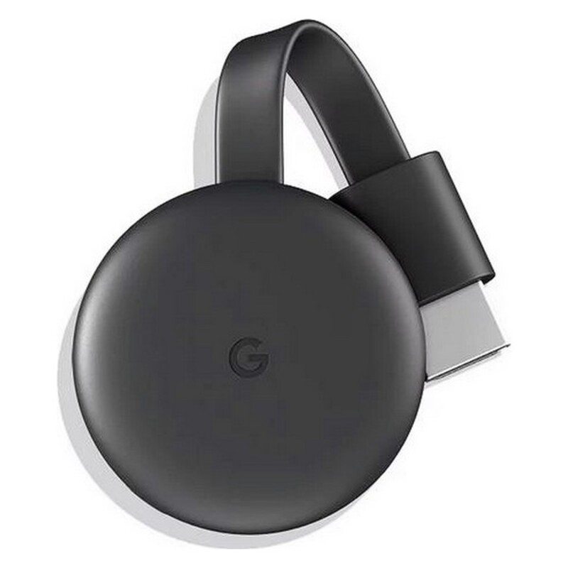 Reproductor TV Google Chromecast v3 1080 px WiFi 5 GHz Gris