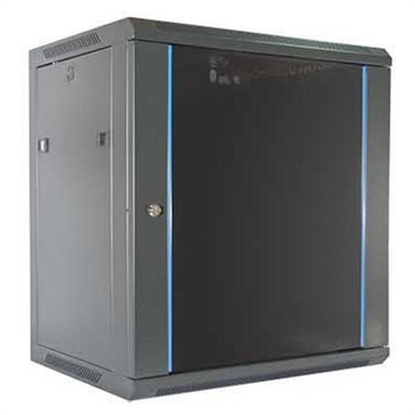 Wall-mounted Rack Cabinet 2LAN 12U Black
