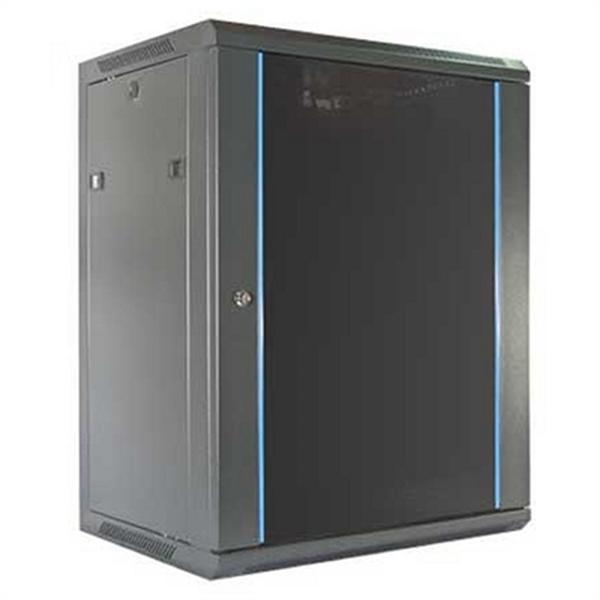 Wall-mounted Rack Cabinet 2LAN 15U Black