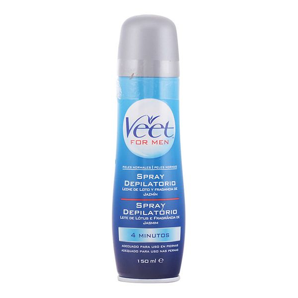 Body Hair Removal Spray Men Veet (150 ml)