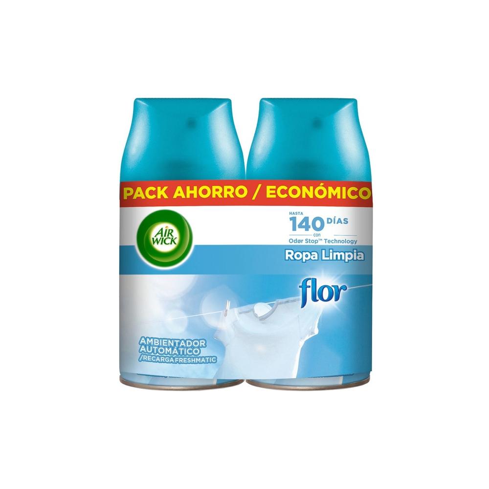 Air Freshener Air Wick Clean Clothes (2 pcs)