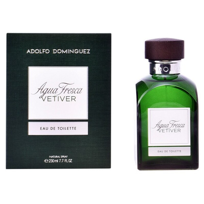 Men's Perfume Agua Fresca Vetiver Adolfo Dominguez EDT