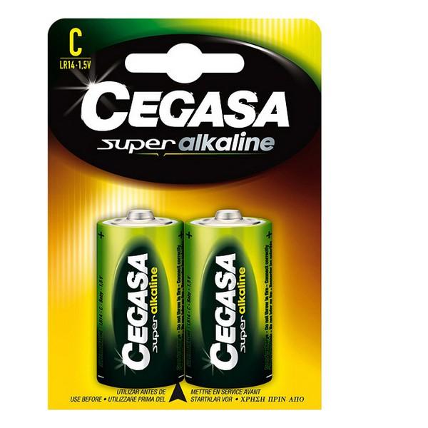 Alkaline Batteries Cegasa LR14 C 1,5V (2 uds)