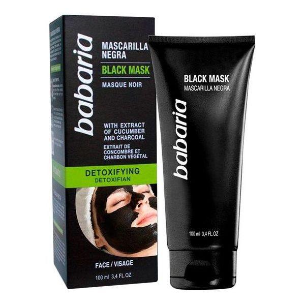 Mascarilla Negra Detoxifyng Babaria