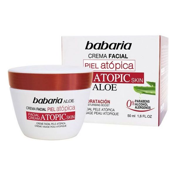 Krema za Obraz Babaria Atopična koža - 50 ml