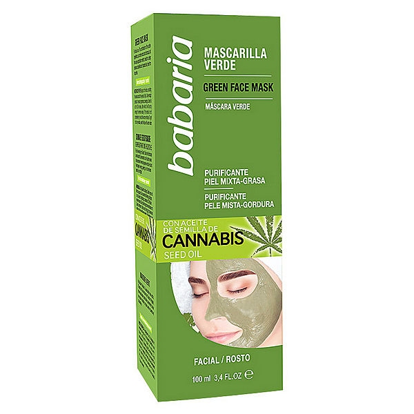 MASCARILLA PURIFICANTE CANNABIS BABARIA (100 ML)
