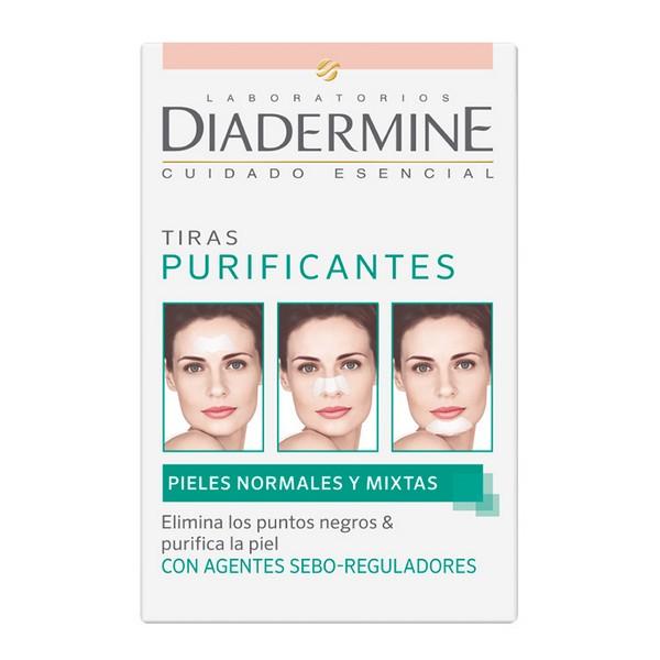Tiras Purificantes Diadermine (6 uds)