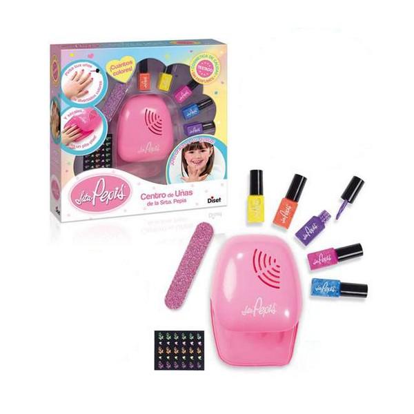 Children's Make-up Set Nail center La Señorita Pepis Diset