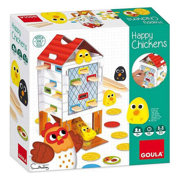 Board game Happy Chicken Goula