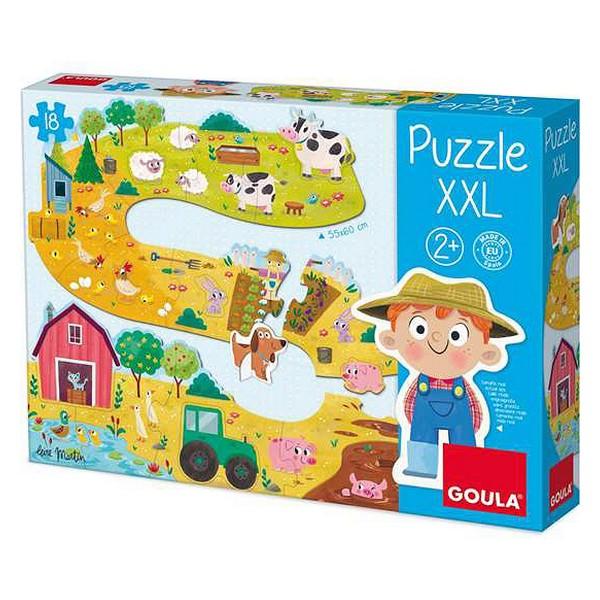 Baby Farm Puzzle Xxl Diset (17 pcs)