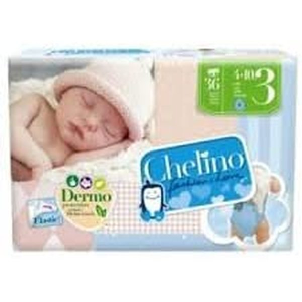 Disposable nappies Chelino Fashion & Love Junior (36 uds) (Refurbished A+)