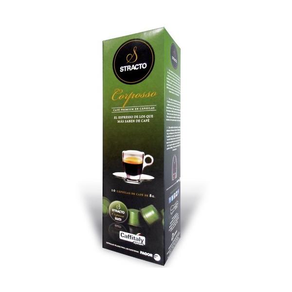 Coffee Capsules Stracto 80583 Corposso (80 uds)